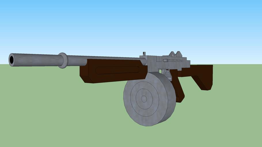 Thompson sub-machinegun