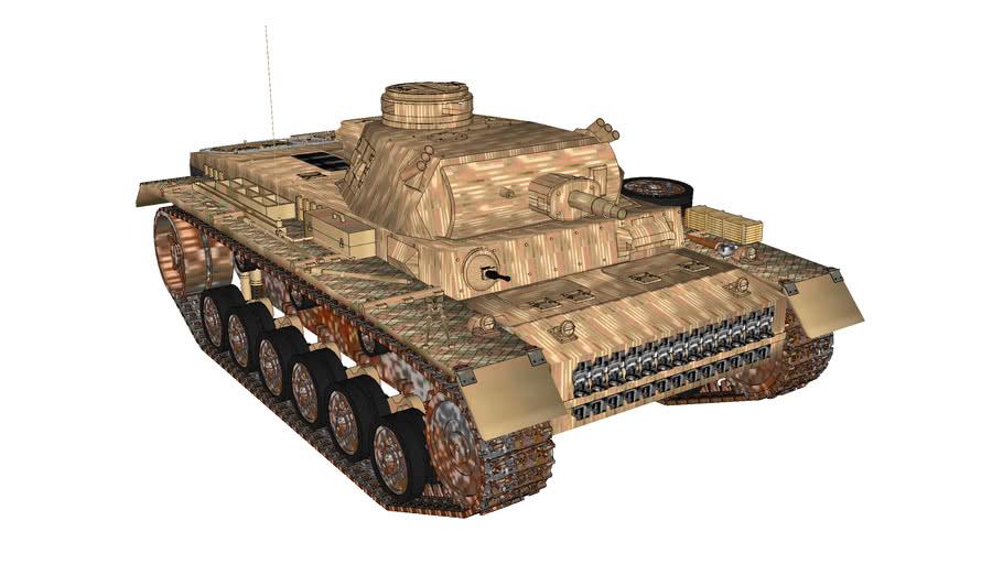 Panzerkamfwagen (Panzer) III Ausf. G