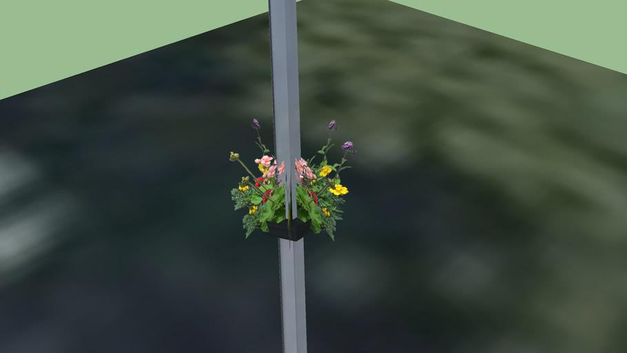 Godmanchester In Bloom, Street Lamp 4
