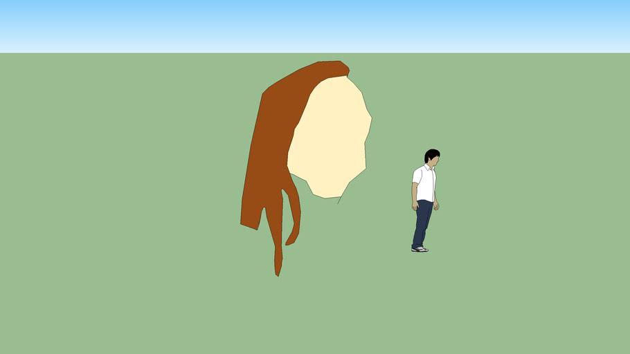 2d Lady face