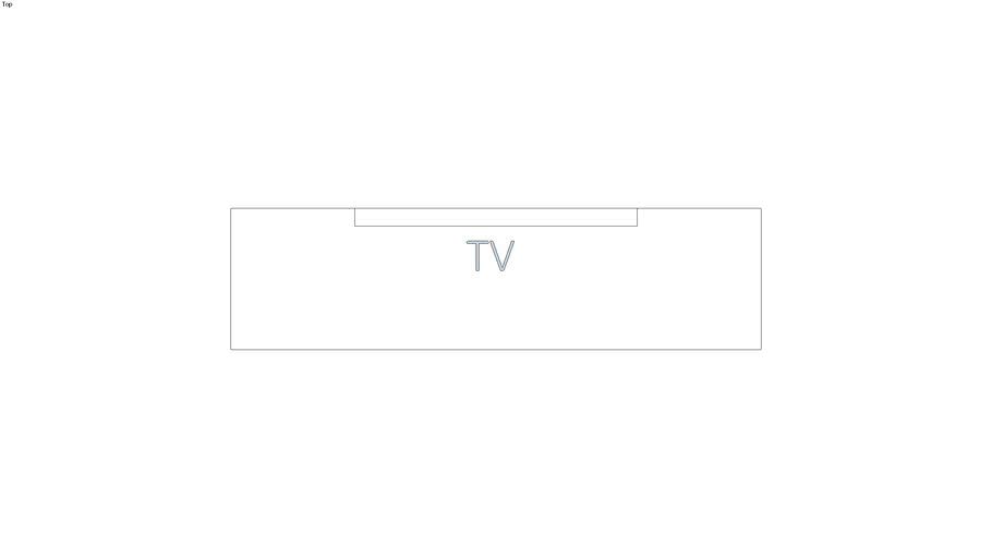 SYMBOLE MEUBLE TV 150x40 VECTO