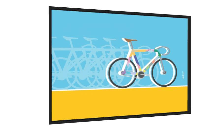 Quadro Bike 1 - Galeria9, por Edson de Souza Moraes
