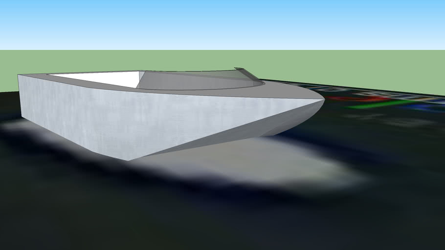 very simple boat