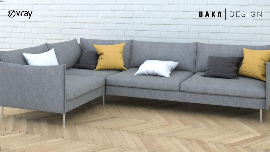 Fabric Corner Sofa Couch Warehouse