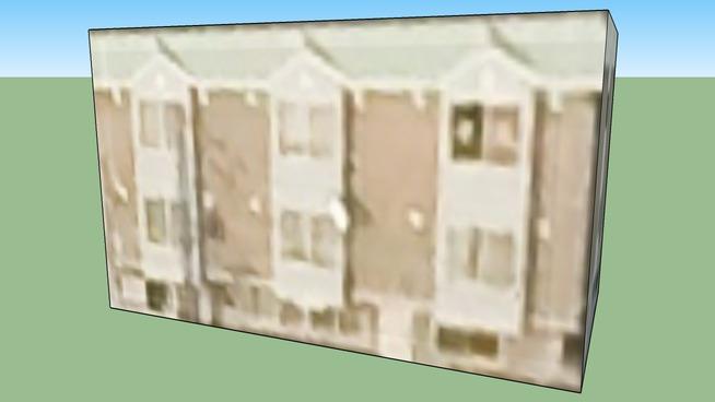 日本, 北海道札幌的建筑模型