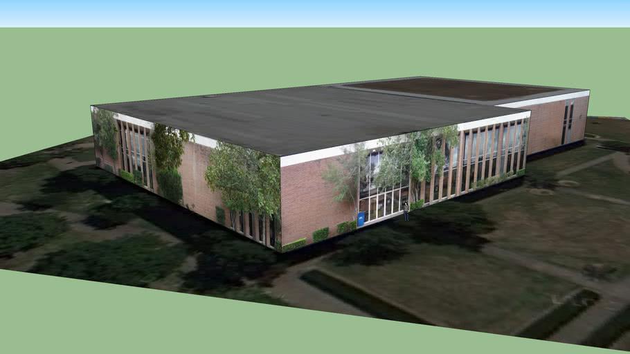 HBU Moody Library (Bldg 14)