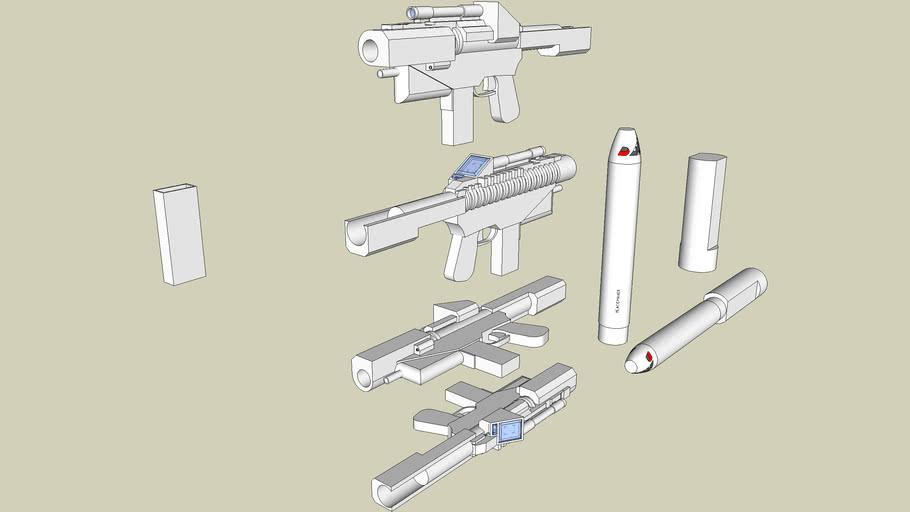 Assault Rifle Multipurpose Anti-matter Rocket Launcher (ARMARL)