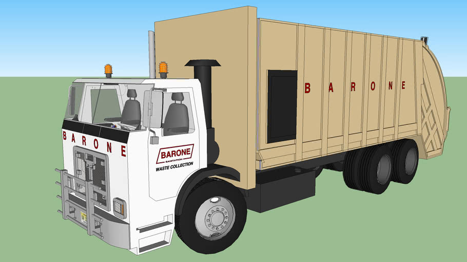 2010 Autocar ACX Barone Sanitation waste collection garbage truck
