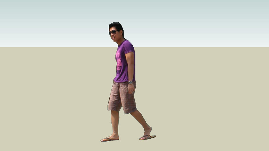 Man walking Pinoy