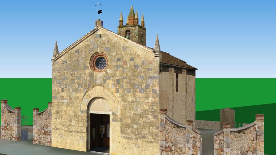 Pieve di Santa Maria Assunta, Monteriggioni (SI)