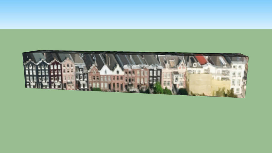 Gebouw in Amsterdam, Nederland