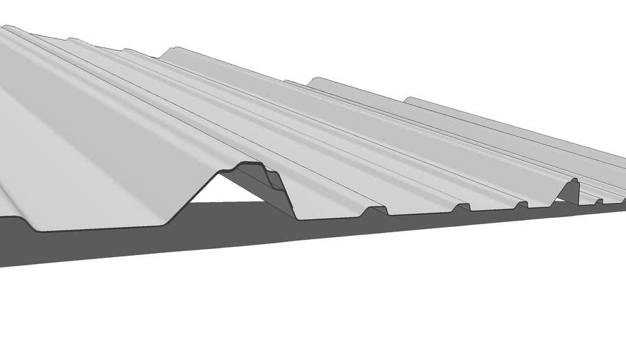 Metal Roof Panel 3d Warehouse