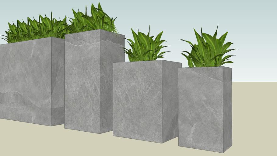 Concrete Planter Box