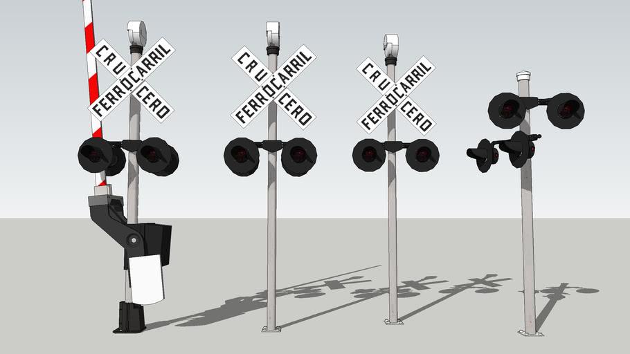 Mixican railway crossing [OFF]