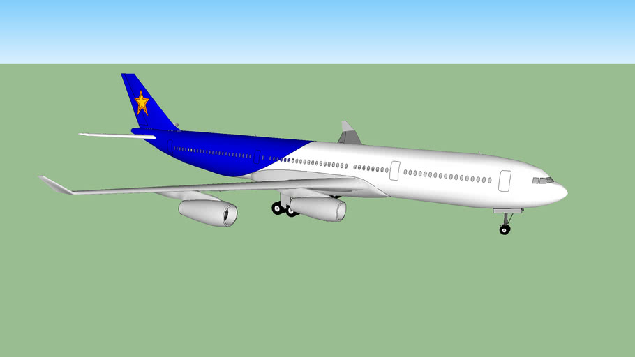 AIRBUS 340 STAR AIRLINE