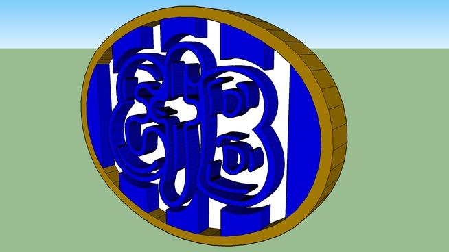 The Esbjerg FB Crest
