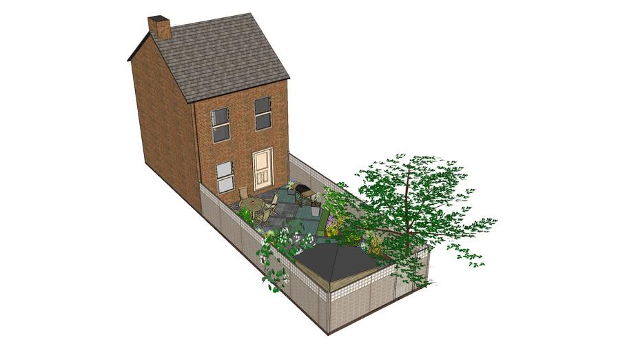 Free Garden Design Using Garden Design Pro Components 3d Warehouse