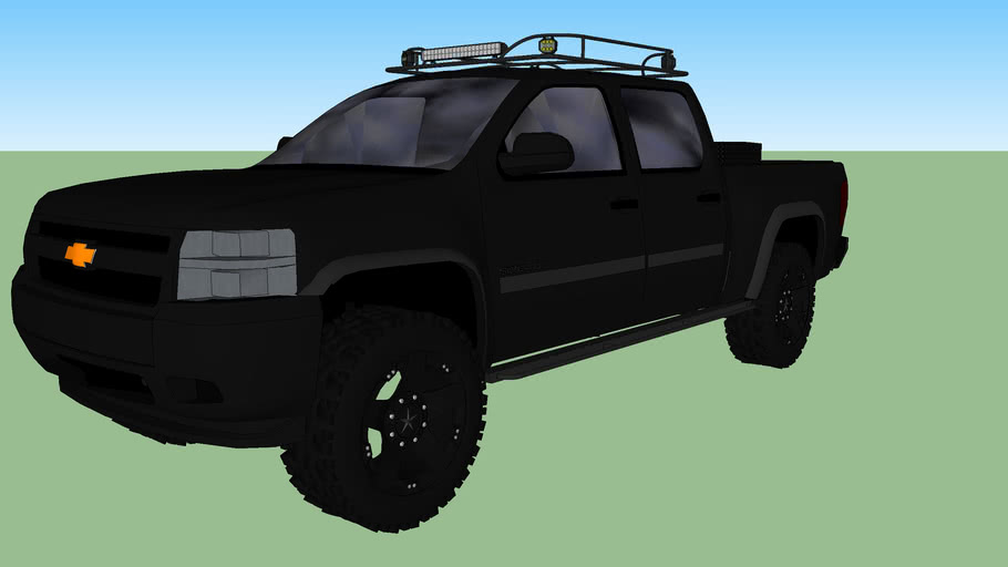 2011 Chevy Silverado Blackout Concepts