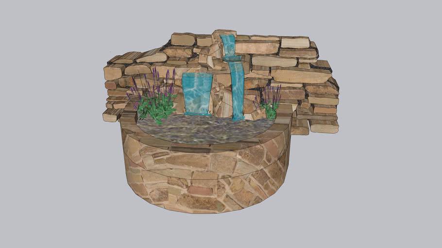 Cascata de pedra