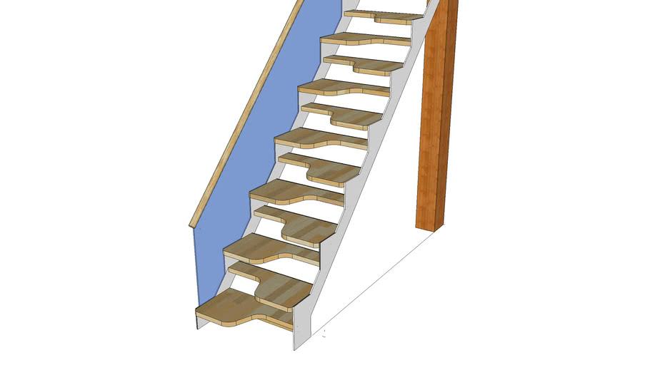 Escalera de paso samba
