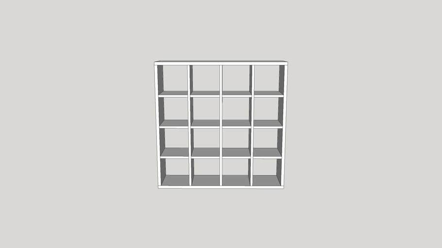 Meuble Kallax 4x4