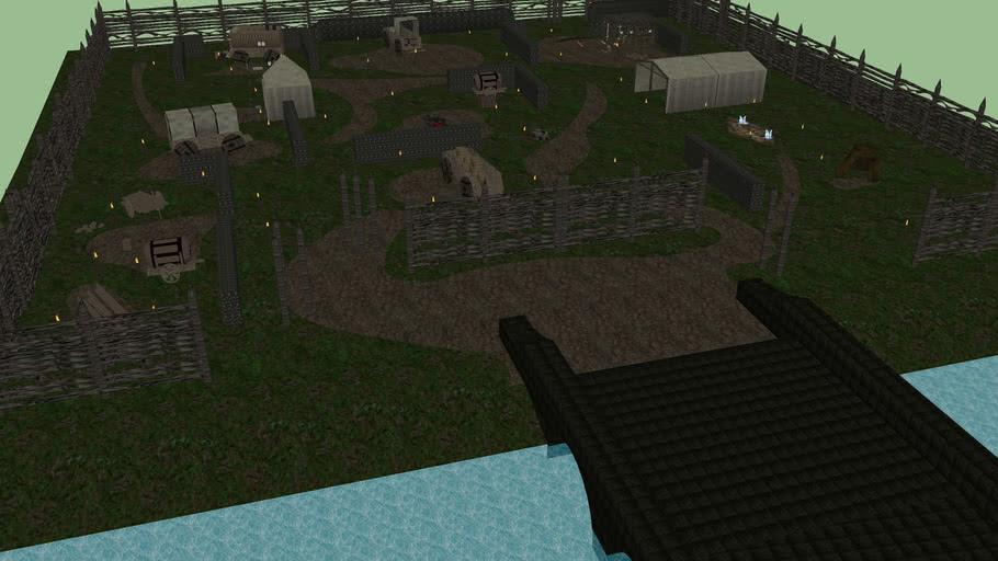 Fan Art- Diablo II-Rogue Encampment