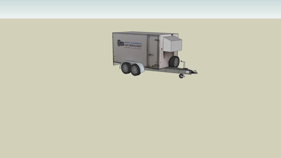 Ad van Oorschot Verhuur - Drankenservice Koel-aanhangwagen