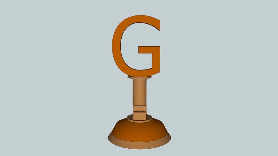 Google Sketchup Trophy