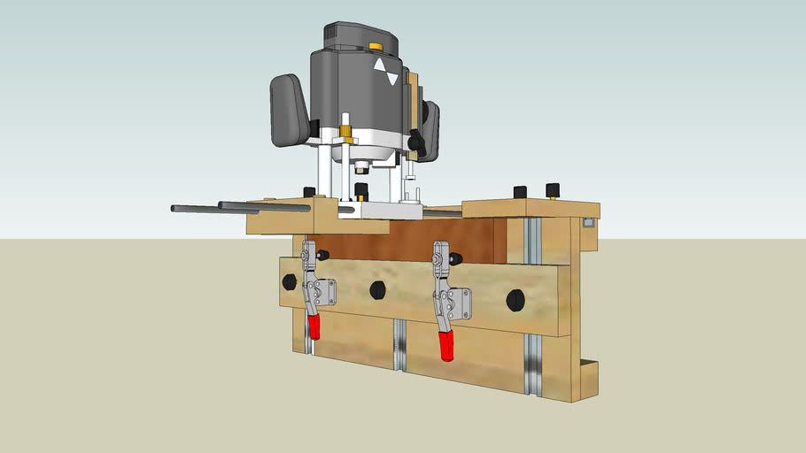 Router Mortice Jig
