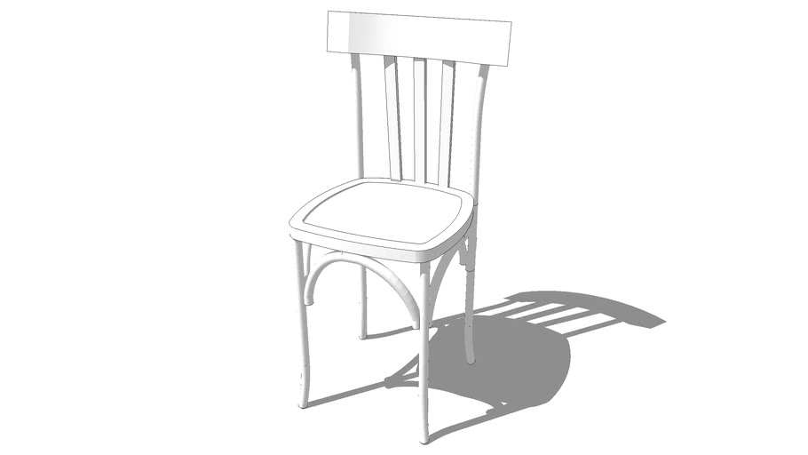 chaise CAMPUS blanc, Maisons du monde. Réf: 123622 prix 69€