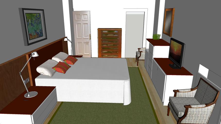Dormitorio matrimonio- Madrid