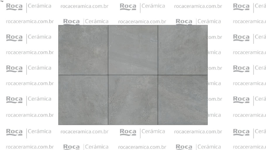 ROCA - PP STONE VALLEY GRAY ABS 90X90 R