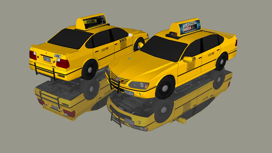 GTA IV MERIT TAXI CAR
