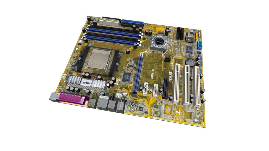 Asus A8N-E pc motherboard