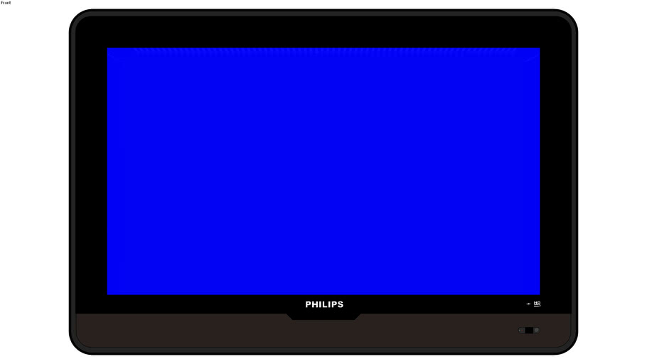 "TV PHILIPS LCD 32"" S/ BASE"