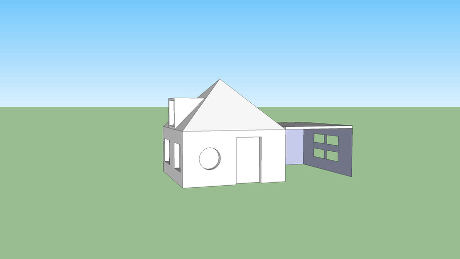 HOUSE WITH GARAGE!