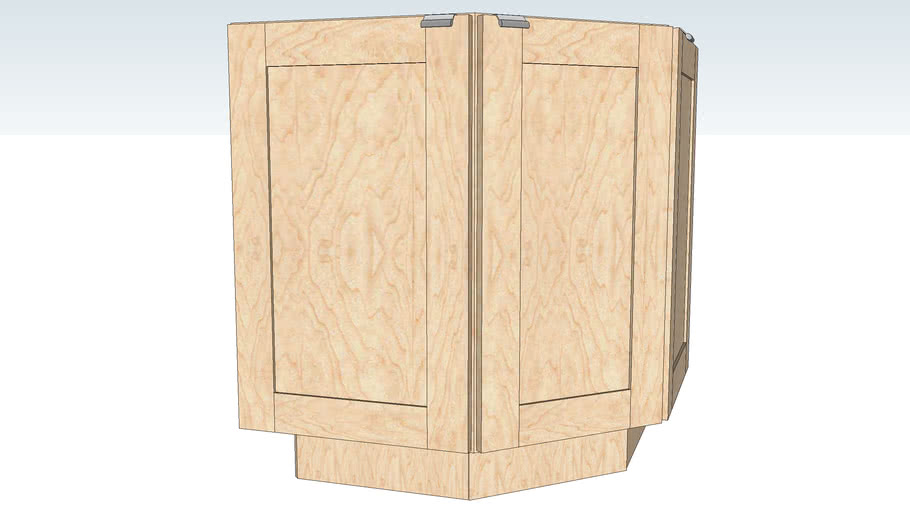 Island End Cabinet