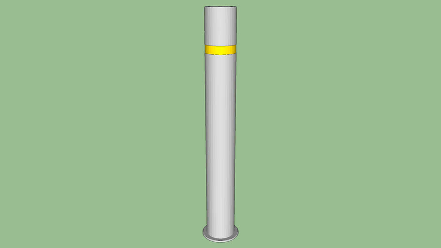 R-8460 Stainless Steel Bollard