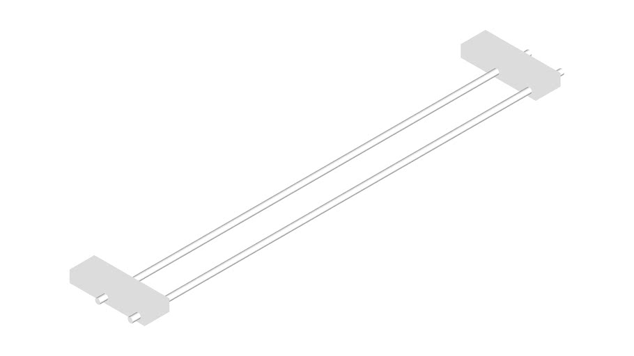 JUSTIME Double Towel Bar 60cm _6918-14-80CP