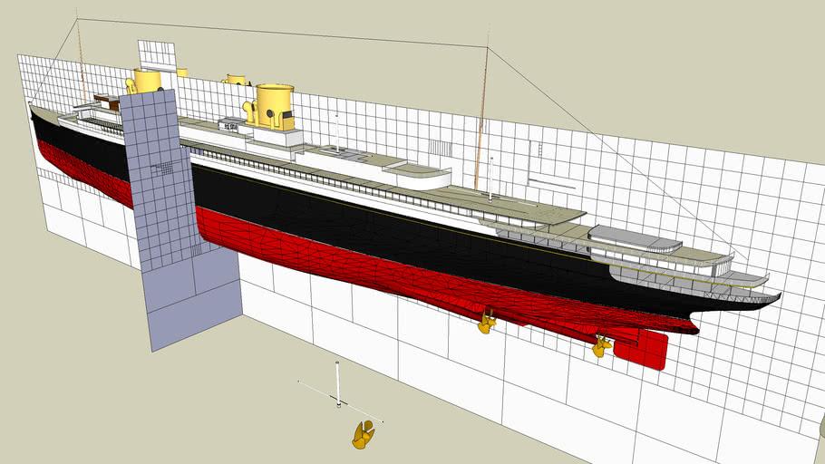 Ocean Liner WIP