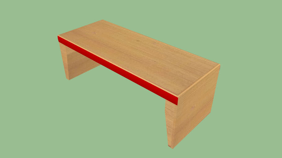 red cushion dining table extended