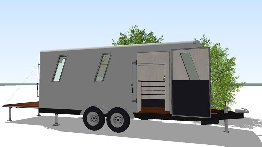 Camper Trailer Wells Cargo