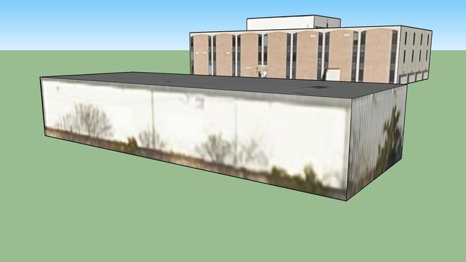 Byggnad på Kansas City, MO, USA