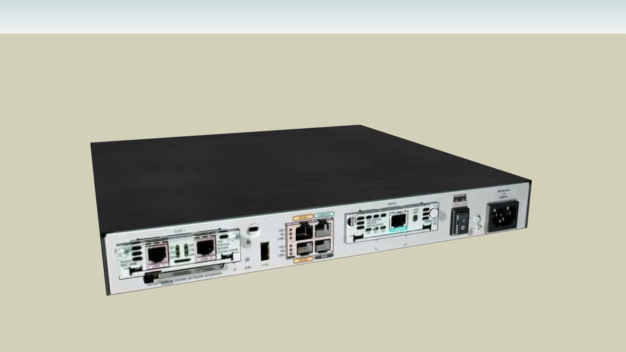 Router Cisco 1800 modular