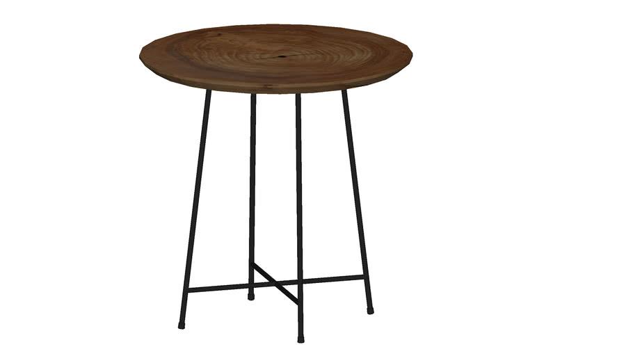 KARE 81074 Side Table X Nature Ø 42cm (Beistelltisch X Nature Ø 42cm)