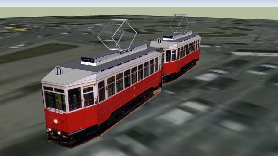 Zabytkowy tramwaj warszawski