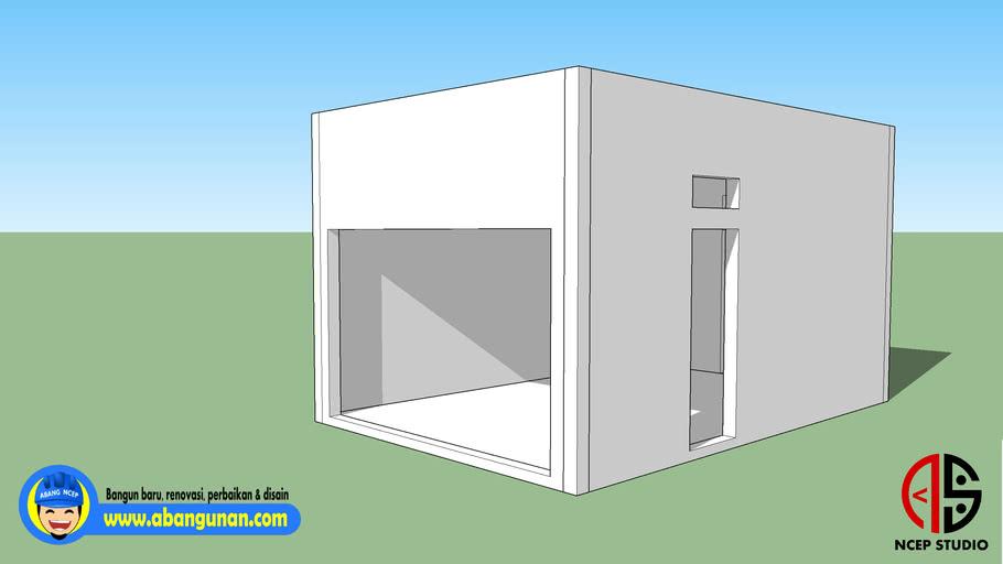 Model Dasar Garasi 01-NC