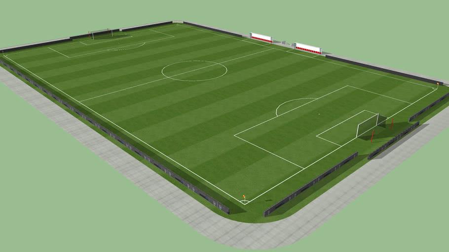 Terrain de foot / Soccer pitch / Campo de fútbol