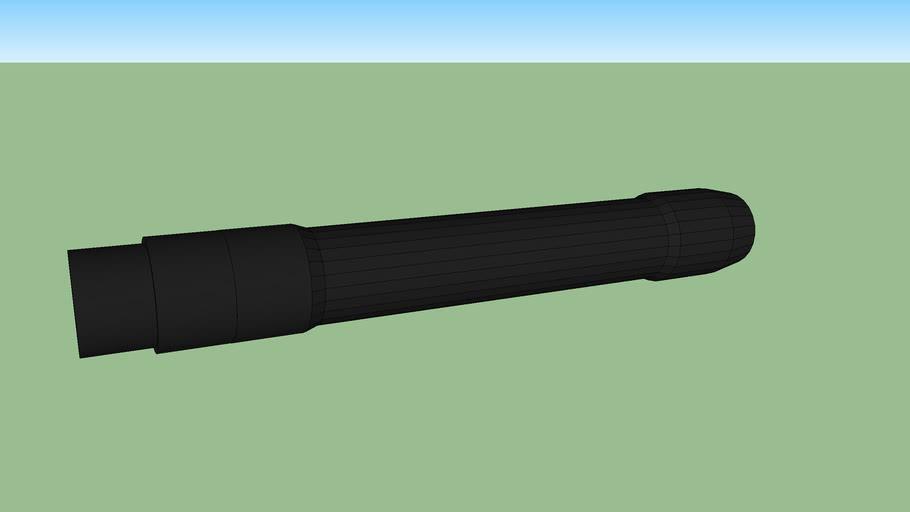 "14"" Hammerhead barrel for paintball"