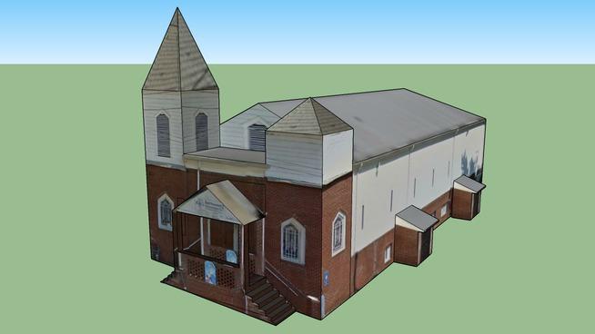 Thessalonian Baptist Church in Atlanta, Georgia